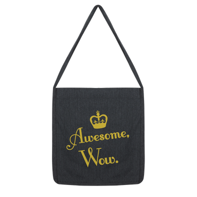 Awesome, Wow Classic Tote Bag