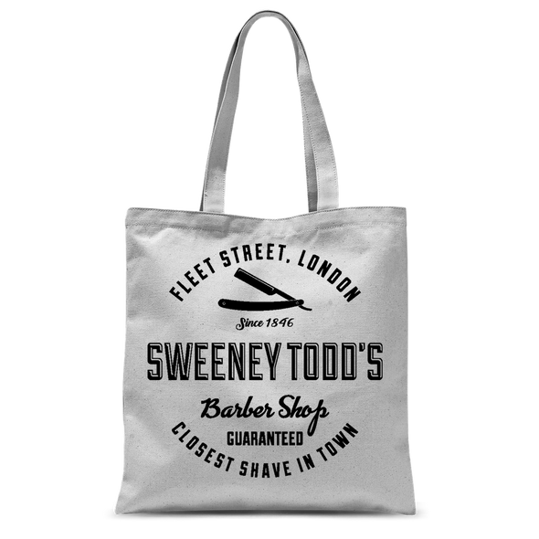 Sweeney Todd's Barber Shop Tote Bag
