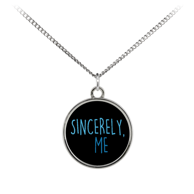 Sincerely, Me Coin Necklace