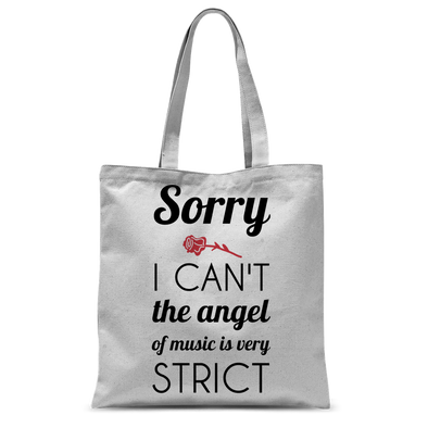 Angel of Music Tote Bag
