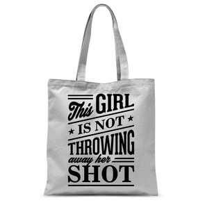 Her Shot Tote Bag