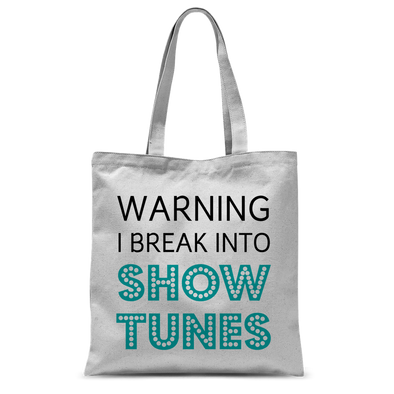 Showtunes Tote Bag