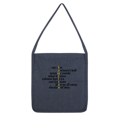 Hamilton Songs Classic Tote Bag