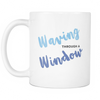 Waving Through A Window Mug