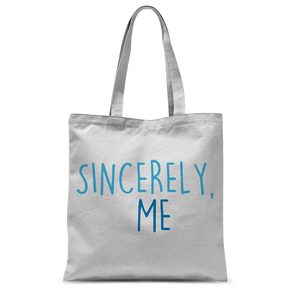 Sincerely, Me Tote Bag