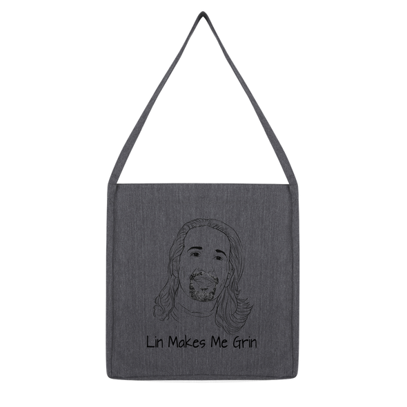 Lin Makes Me Grin Classic Tote Bag