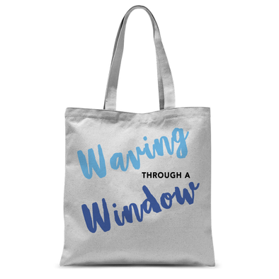 Waving through a Window Tote Bag
