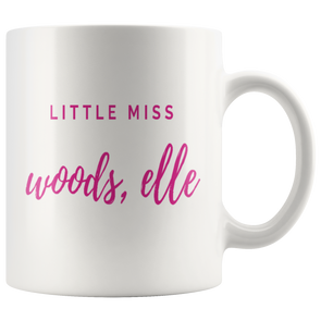 Little Miss Woods, Elle Mug