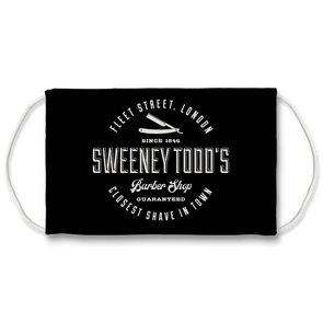 Sweeney Todd's Face Mask