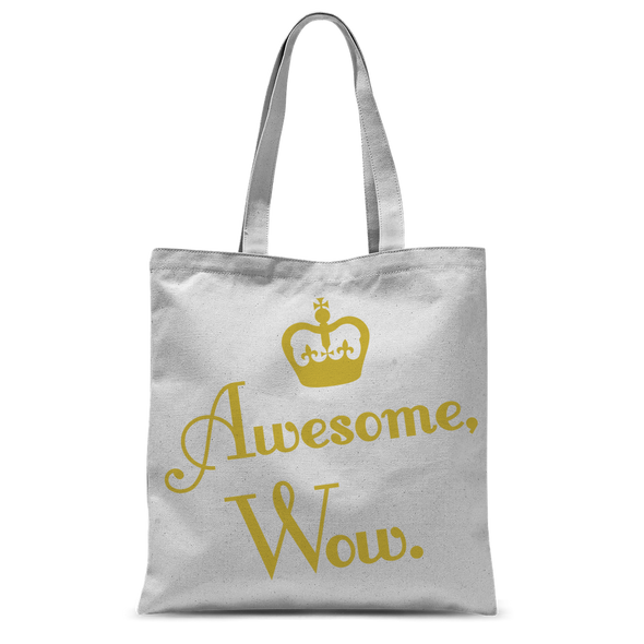 Awesome, Wow Tote Bag