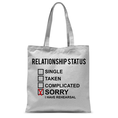 Thespian Relationship Tote Bag