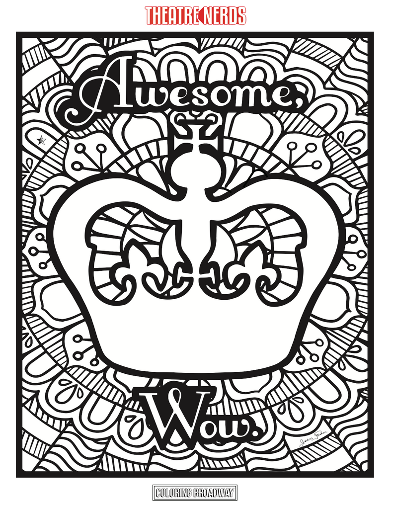 hamilton coloring pages 4pck