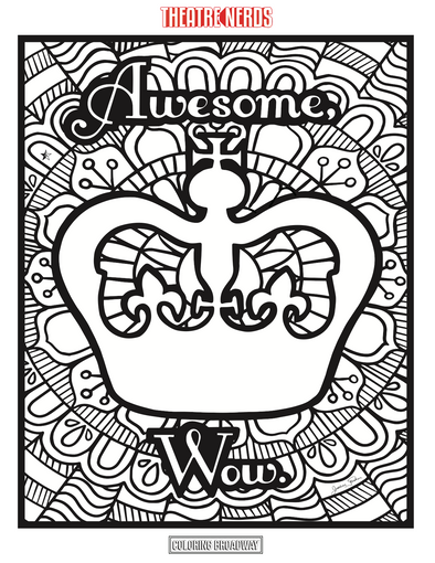 Hamilton Coloring Pages (4pck)