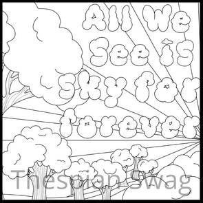 Dear Evan Hansen Inspired Coloring Pages