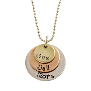 "Les Mis ""One Day More"" Necklace"
