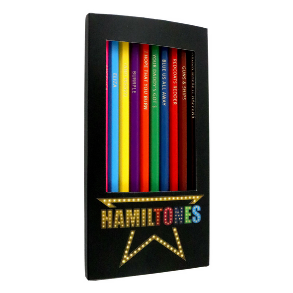 Hamilton colored Pencils