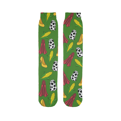 Potion Pattern Tube Socks