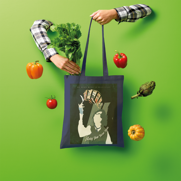 Sweeney Show Poster Shopper Tote Bag