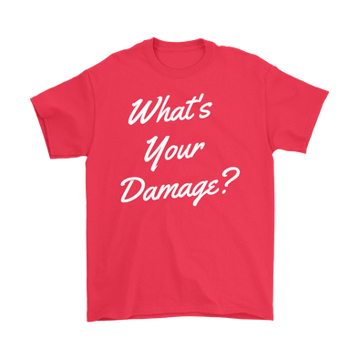 What's Your Damage? Basic Tee