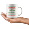 'Ugly' Broadway Christmas Mug