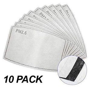 Replacement Filters for Masks- 10 pack