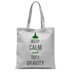 Defying Gravity Tote Bag
