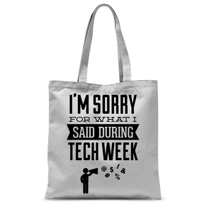 Tech Week Tote Bag