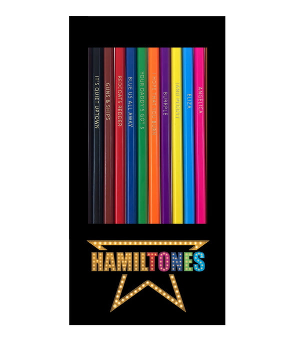 Hamiltones Hamilton colored pencils