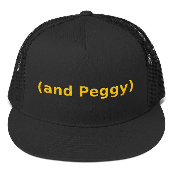 And Peggy Trucker Cap