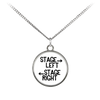 Thespian GPS Coin Necklace