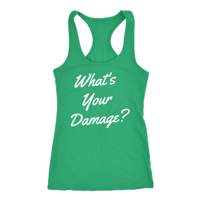 What's Your Damage? Tank