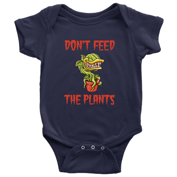 Don't Feed The Plants Onesie