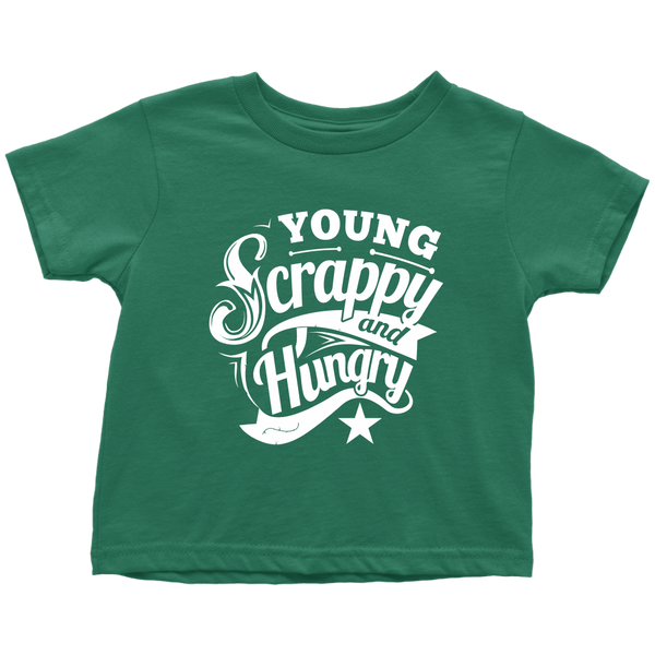 Young Scrappy & Hungry Toddler