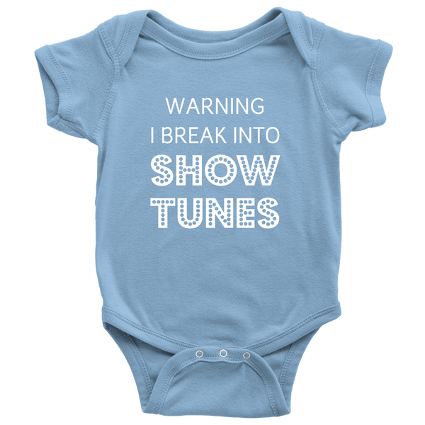 Break Into Showtunes Onesie