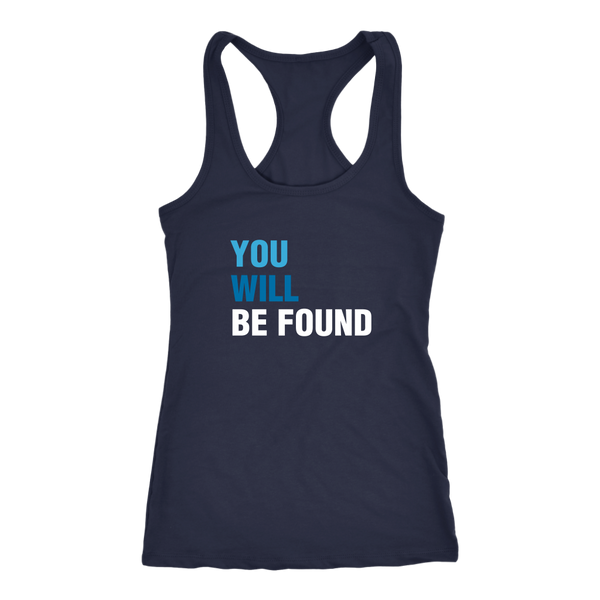 You Will Be Found Tank