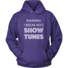 Break Into Showtunes Hoodie
