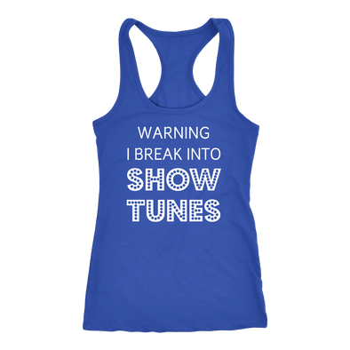 Break Into Showtunes Tank