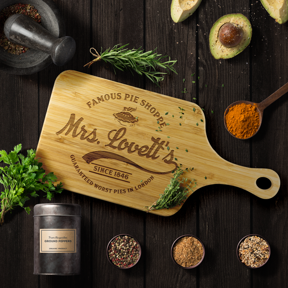 Mrs. Lovett's Cutting Board