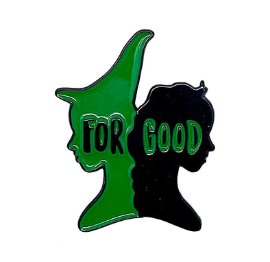 WICKED 'For Good' Enamel Pin