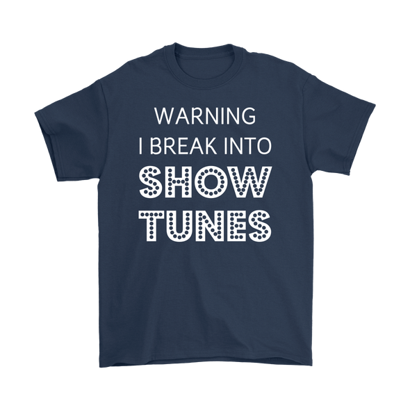 Break Into Showtunes Basic Tee