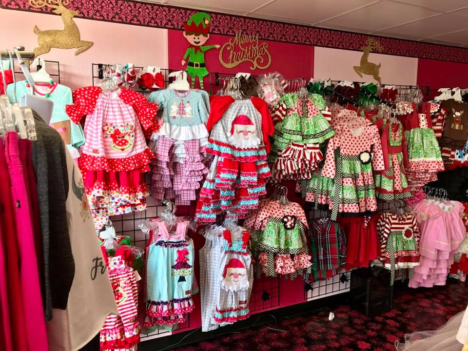 Christmas Is At full Swing  At Jen's Kids Boutique