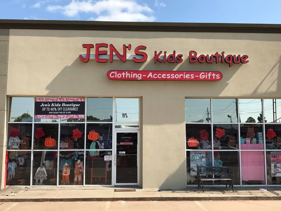 Jen's Kids Boutique One Year Anniversary
