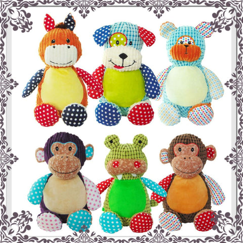 Cubbies stuffed animals by Jenskidsboutique.net