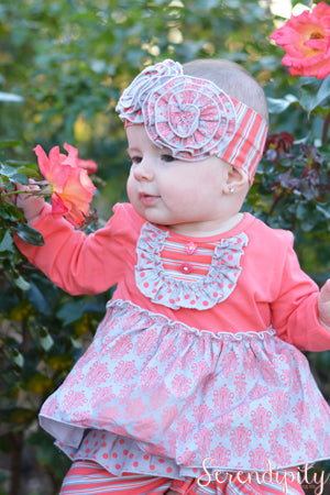 Serendipity Sweet Magnolia Sweet Pocket Dress & Ruffle Legging