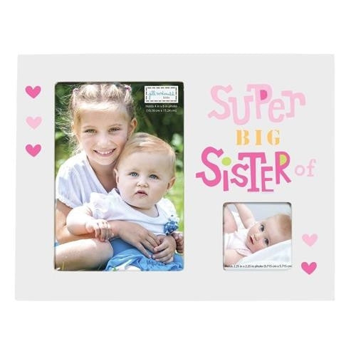 Cr Gibson Big Sister Photo Frame - JEN'S KIDS BOUTIQUE