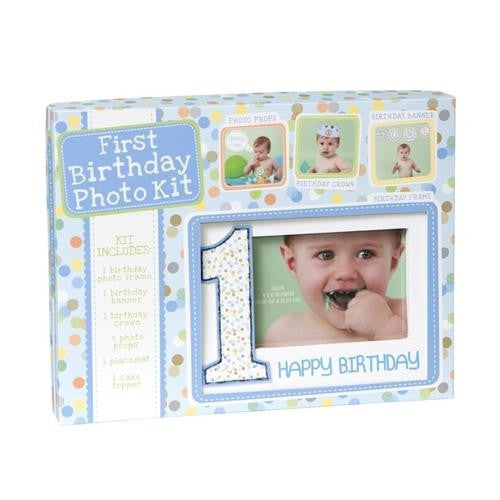 CR Gibson First Birthday Boy Kit - JEN'S KIDS BOUTIQUE