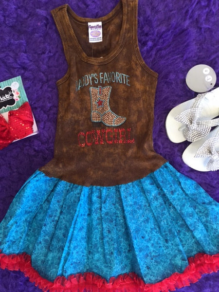 Special Tee Designs Daddy Little Favorite Cowgirl - JEN'S KIDS BOUTIQUE