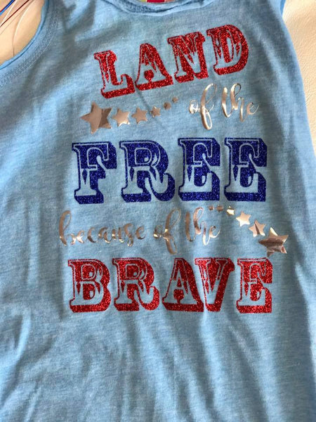 Hope Chest Land Of The Free 4th Of July Fringe Dress - JEN'S KIDS BOUTIQUE