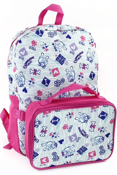 Fall Back To School Dog 16 in Backpack With Lunch Kit - JEN'S KIDS BOUTIQUE