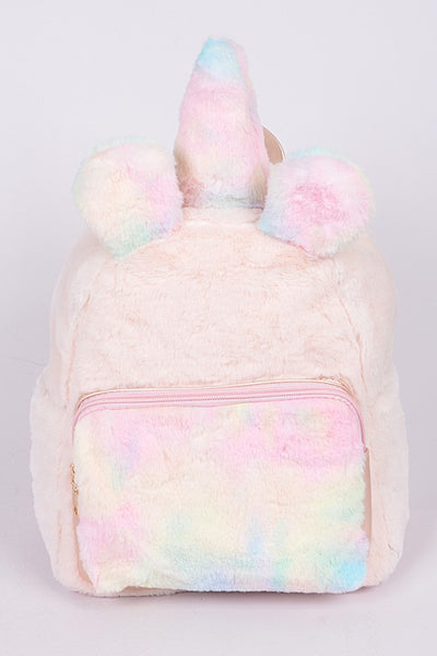Fall Back To School Cotton Candy Unicorn Backpack - JEN'S KIDS BOUTIQUE
